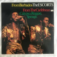 Discos de vinilo: THE ESCORTS – FROM THE CARIBBEAN 1981. Lote 206495376