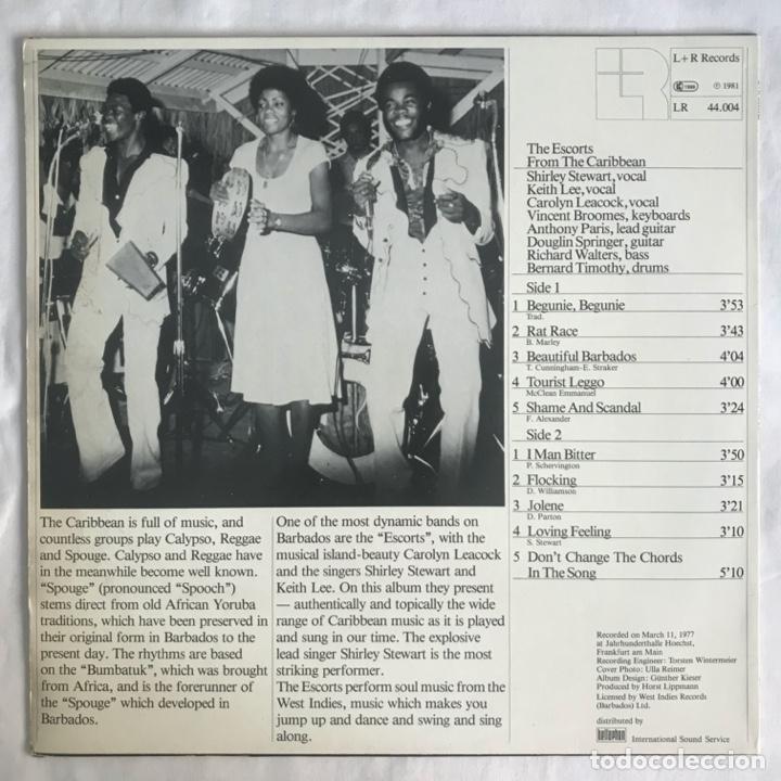 Discos de vinilo: The Escorts – From The Caribbean 1981 - Foto 2 - 206495376