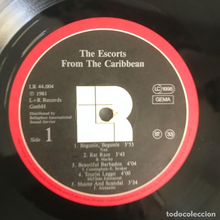 Discos de vinilo: The Escorts – From The Caribbean 1981 - Foto 3 - 206495376