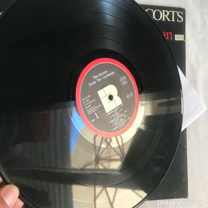 Discos de vinilo: The Escorts – From The Caribbean 1981 - Foto 5 - 206495376