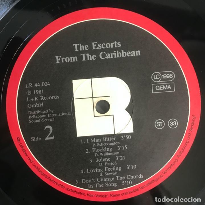 Discos de vinilo: The Escorts – From The Caribbean 1981 - Foto 6 - 206495376