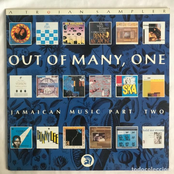 OUT OF MANY, ONE JAMAICAN MUSIC PART TWO 1990 (Música - Discos - LP Vinilo - Reggae - Ska)