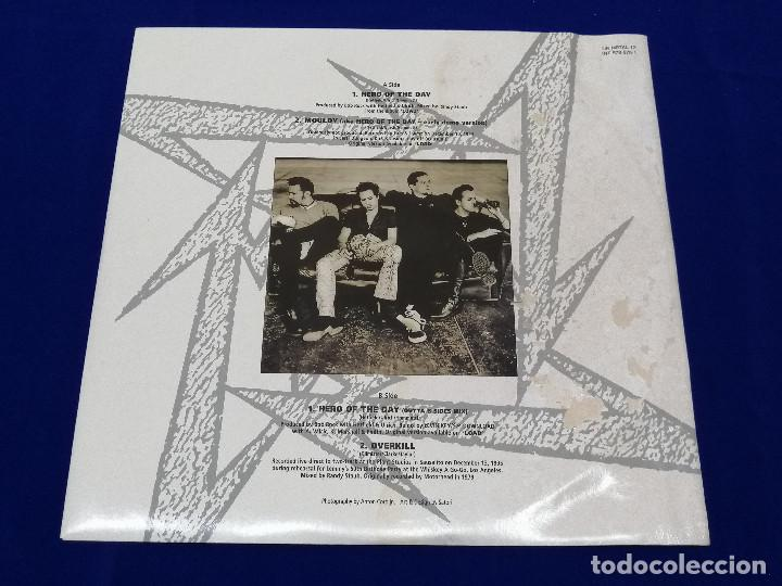 Discos de vinilo: METALICA -HERO OF THE DAY-VINILO -HEAVY - Foto 20 - 206495776