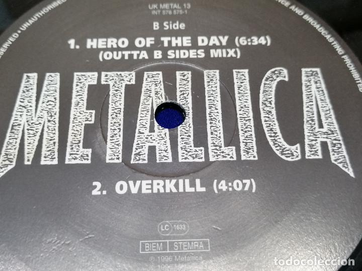 Discos de vinilo: METALICA -HERO OF THE DAY-VINILO -HEAVY - Foto 82 - 206495776