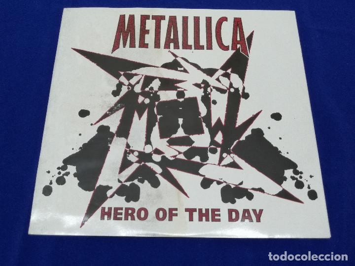 Discos de vinilo: METALICA -HERO OF THE DAY-VINILO -HEAVY - Foto 124 - 206495776