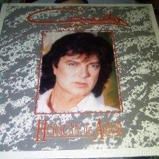 Discos de vinilo: CAMILO SESTO - HURACÁN DE AMOR - 1992 MÉXICO (EXTREMADAMENTE RARO). Lote 206497286