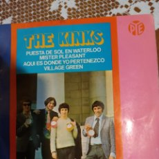 Discos de vinilo: THE KINKS. PUESTA DE SOL EN WARTERLOO. EP. Lote 206497418
