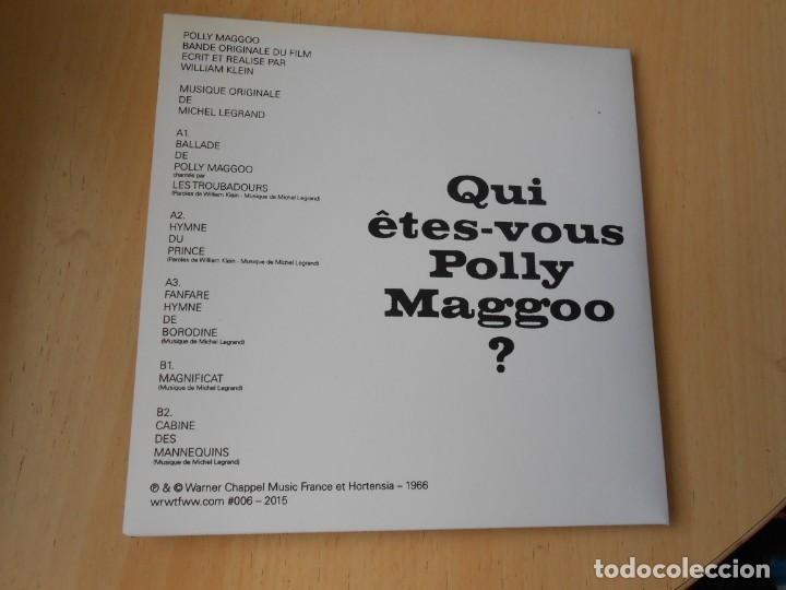 Discos de vinilo: BANDE ORIGINALE DE FILM POLLY MAGGOO, EP, BALLADA DE POLLY MAGGOO + 1, AÑO 2015, MADE IN FRANCE - Foto 5 - 206498250