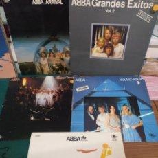 Discos de vinilo: ABBA 5 LPS. Lote 206499130