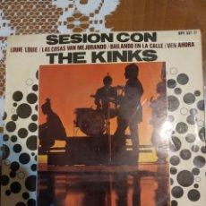 Discos de vinilo: SESIÓN CON THE KINKS. LOUIE LOUIE.. Lote 206499767