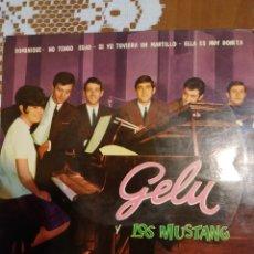 Discos de vinilo: GELU Y LOS MUSTANG. DOMINIQUE. Lote 206501951