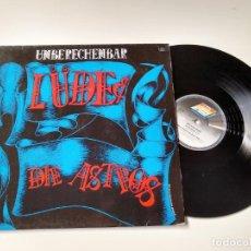 Discos de vinilo: UNBERECHENBAR. LUDE AND DIE ASTROS. LP 1989. Lote 206502758