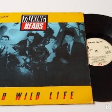 Discos de vinilo: TALKING HEADS. WILD WILD LIFE. MAXISINGLE. Lote 206502958