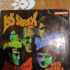 Discos de vinilo: LOS SIREX. ALREDEDOR DEL RELOJ. EP. Lote 206503747