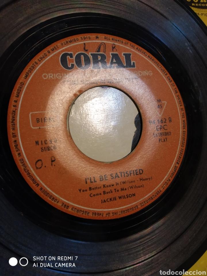 Discos de vinilo: Jackie Wilson. Ill be satisfied. EP - Foto 2 - 206504898