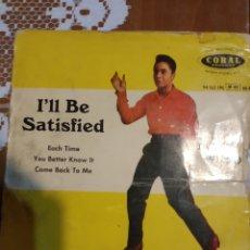 Discos de vinilo: JACKIE WILSON. I'LL BE SATISFIED. EP. Lote 206504898