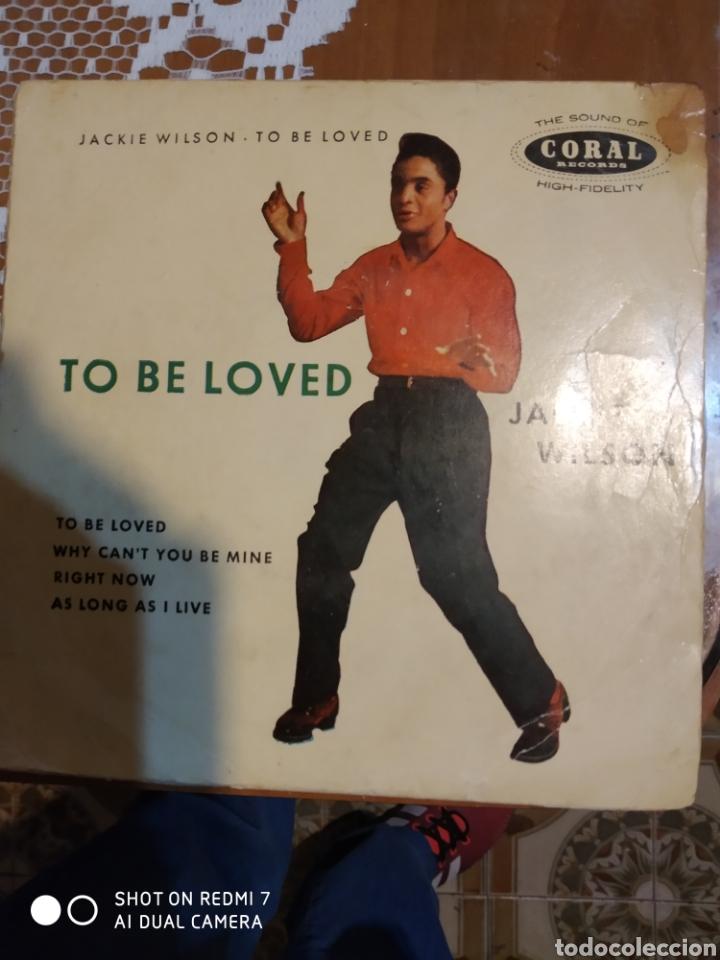 JACKIE WILSON. TO BE LOVED. EP (Música - Discos de Vinilo - EPs - Jazz, Jazz-Rock, Blues y R&B)