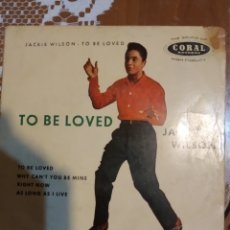 Discos de vinilo: JACKIE WILSON. TO BE LOVED. EP. Lote 206504931