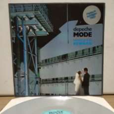 Discos de vinilo: DEPECHE MODE - SOME GREAT REWARD 1984 ED ALEMANA / VINILO COLOR GRIS. Lote 206505158
