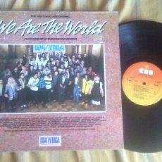Discos de vinilo: USA FOR AFRICA LP WE ARE THE WORLD 1985 GATEFOLD STEVIE WONDER BRUCE SPRINGSTEEN DYLAN MICHAEL JACKS. Lote 206506617