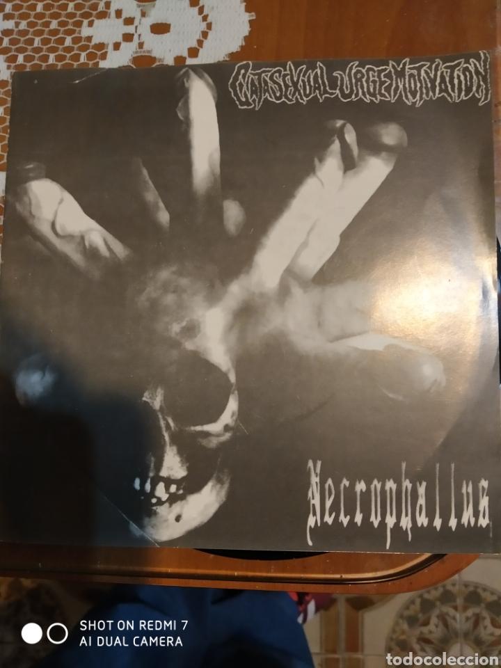 GATASEXUAL URGE MOTIVATION. NECROPHALLUS 9 TEMAS.. (Música - Discos de Vinilo - EPs - Heavy - Metal)