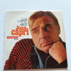 Discos de vinilo: JOAN CAPRI, EL PIS I L'ESTALVI, LA TÍA AMELIA, VERGARA.. Lote 206509027