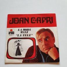 Discos de vinilo: JOAN CAPRI, LA TELE, LA MODA MAXI, ARIOLA.. Lote 206509212