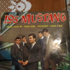 Discos de vinilo: LOS MUSTANG. PLEASE PLEASE ME EP. Lote 206509655