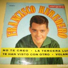 Discos de vinilo: FRANCISCO HEREDERO. Lote 206509807