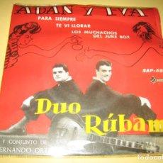 Discos de vinilo: DUO RUBAM - VER FOTOS. Lote 206509907