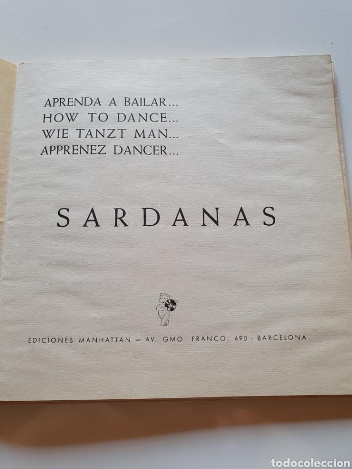 Discos de vinilo: Aprenda a bailar... hoy to dance... wie tanto Man... apprenez dancer... sardanas. - Foto 4 - 206510156