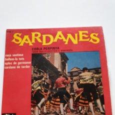 Discos de vinilo: SARDANES, COBRA PERPINYA, ROCA VENTOSA, BALLEM-LA TOTS, APLICACIONES DE GERMANOS, SARDANA DE TARDOR.. Lote 206510610