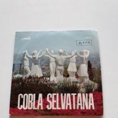 Discos de vinilo: COBLA LA SELVATANA, APASSIONADA, ANNA, LA CANÇÓ DE L'AVI, COSTA BRAVA.. Lote 206511325