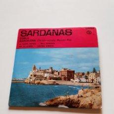 Discos de vinilo: SARDANAS 1, COBLA BARCELONA, LA SANTA ESPINA, PER TU PLORO, BELL PENEDÉS, GERONA AIMADA.. Lote 206511605