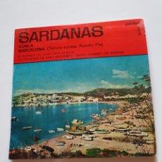 Discos de vinilo: SARDANAS, COBLA BARCELONA, EL RABADA, EL CANTANTE DELS OCELLS, LA PROCESSO DE SANT BARTOMEU, + 1.. Lote 206511911