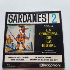 Discos de vinilo: SARDANES 2, COBLA LA PRINCIPAL DE LA BISBAL, MARIA DE LES TRENES, BAIXANT DE LA FONT DEL GAT, + 2.. Lote 206512266