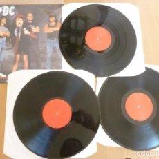 Discos de vinilo: AC/DC GET THIS INTO YOUR HEAD 3LP VINILO EXC- RARE STUTTGART 26.03.1991. Lote 206513316