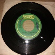 Discos de vinilo: LONNIE B. & VIKI G. – HIGH ON THE MOUNTAIN. Lote 206513366