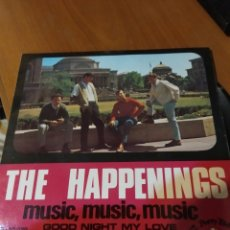 Discos de vinilo: THE HAPPENINGS. MUSIC MUSIC MUSIC EP. Lote 206517306
