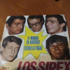 Discos de vinilo: LOS SIREX. EL MUNDO EN NAVIDAD.. Lote 206523028