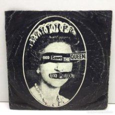 Discos de vinilo: SINLGE - VINILO - SEX PISTOLS - GOD SAVE THE QUEEN - AÑO 1977. Lote 206526098