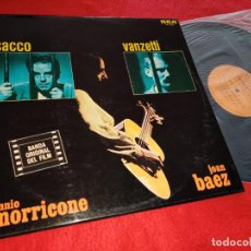 Discos de vinil: SACCO Y VANZETTI ENNIO MORRICONE BSO OST LP 1975 RCA EDICION ESPAÑOLA SPAIN JOAN BAEZ EX. Lote 206532215