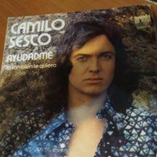Discos de vinilo: CAMILO SEXTO. AYUDADME.. Lote 206534371