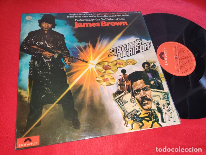 JAMES BROWN Slaughter's big rip off BSO OST LP 1973 Polydor ESPAÑA SPAIN EXCELENTE ESTADO segunda mano