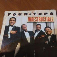 Discos de vinilo: FOUR TOPS. INDESTRUCTIBLE.. Lote 206535000