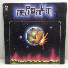 Discos de vinilo: LP - DISCO - VINILO - NEURONIUM - SU PRIMER LP - HARVEST 1977 - EDICIÓN ORIGINAL ESPAÑOLA - QUASA. Lote 206540002