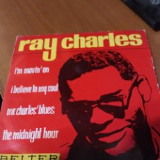 Discos de vinilo: RAY CHARLES. I'M MOVIN'ON EP. Lote 206540026