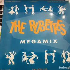 "Discos de vinilo: THE RUBETTES - MEGAMIX (12"") 1990. SELLO:CLASH CAT. Nº: CLM 064. COMO NUEVO. Lote 206540572"