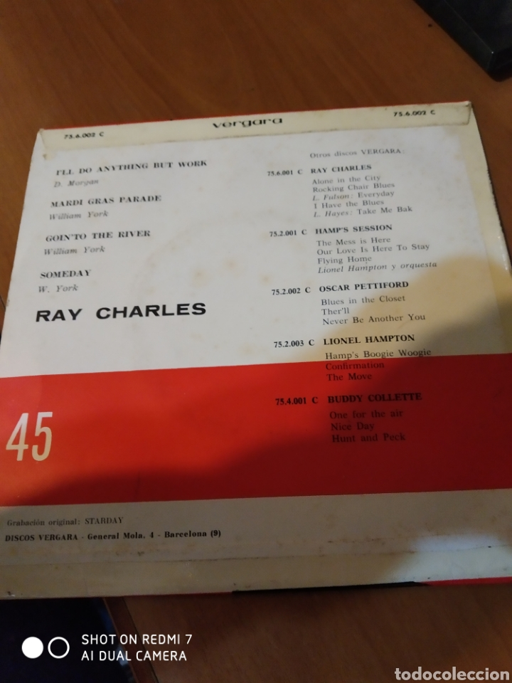 Discos de vinilo: Ray Charles. Gointo the River. - Foto 3 - 206541308