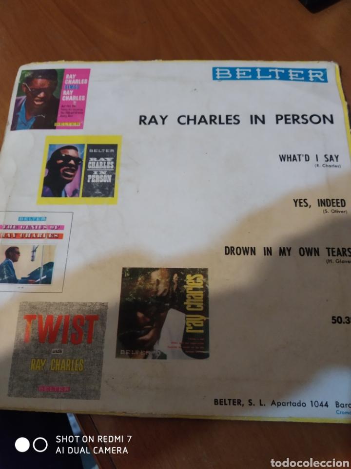 Discos de vinilo: Ray Charles In person. - Foto 3 - 206541576